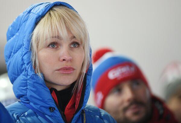 Президент Федерации санного спорта России Наталия Гарт