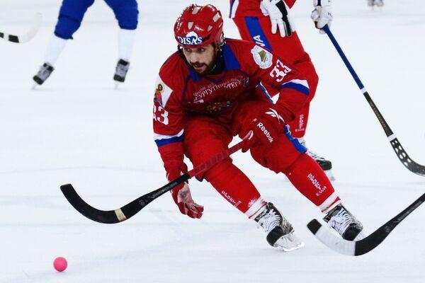 Игрок сборной России Андрей Прокопьев