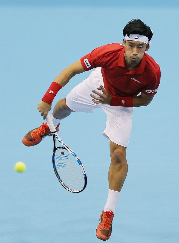 Японский теннисист Юити Сугита