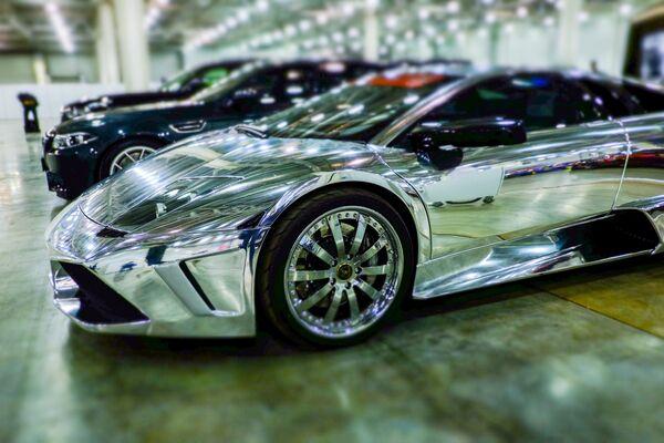 Автомобиль Lamborghini. Архивное фото