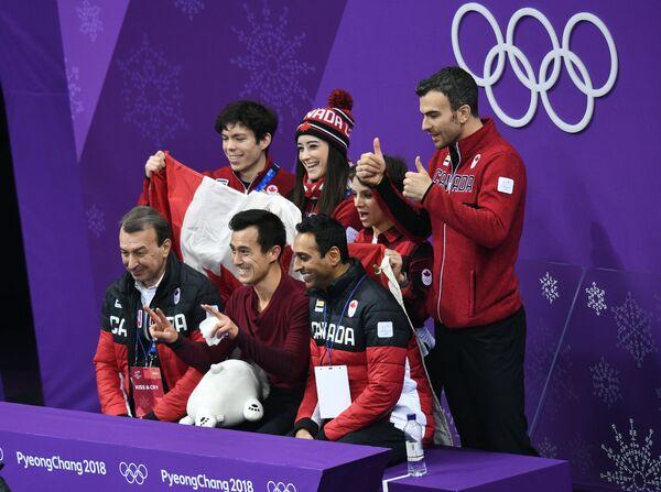Сборная команда Канады по фигурному катанию