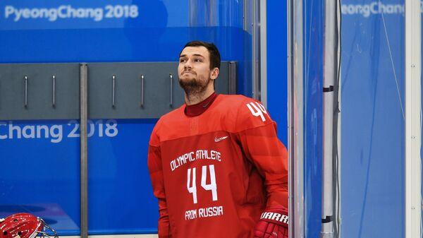 Российский хоккеист Егор Яковлев