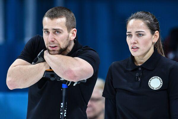 Анастасия Брызгалова и Александр Крушельницкий