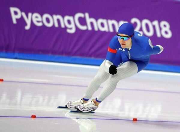 Российский конькобежец Сергей Трофимов