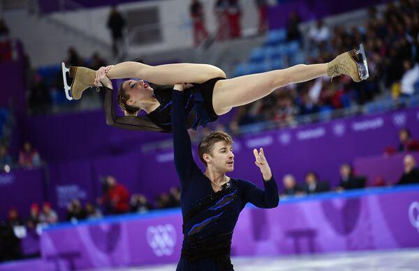 Кристина Астахова и Алексей Рогонов