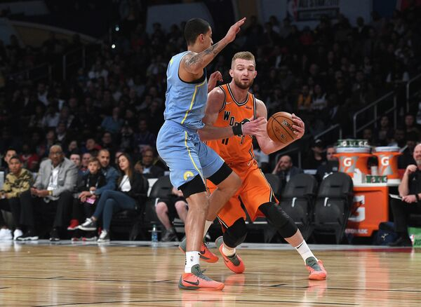 Баскетбол. Матч всех звезд НБА. Сборная США - сборная мира
