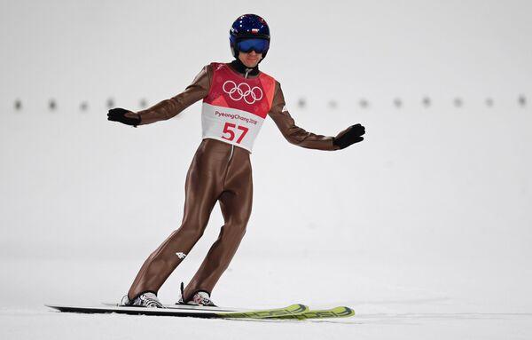 Польский летающий лыжник Камил Стох