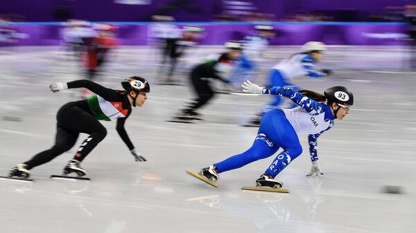 Справа: российская спортсменка Эмина Малагич