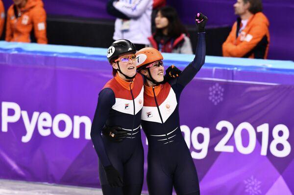 Сюзанне Схюлтинг (справа) и Йорин тер Морс