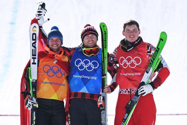Марк Бишофбергер, Брэди Леман, Сергей Ридзик (слева направо)