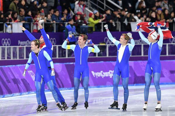 Конькобежцы сборной Норвегии