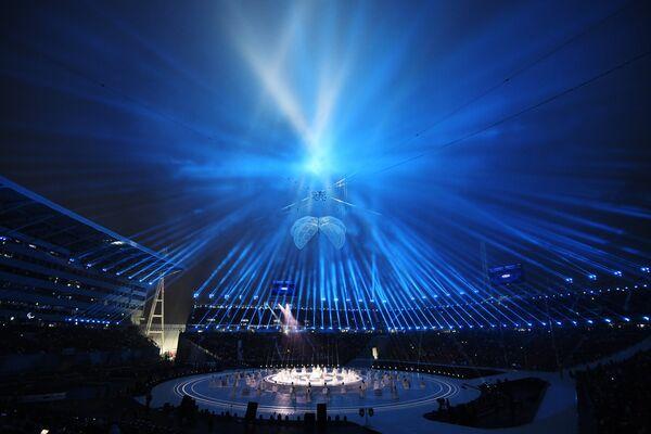 Церемония открытия XII зимних Паралимпийских игр в Пхенчхане