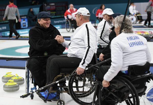 Паралимпиада 2018. Керлинг. Матч Россия - Финляндия