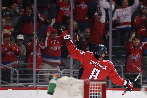 Форвард клуба НХЛ Вашингтон Кэпиталз Александр Овечкин