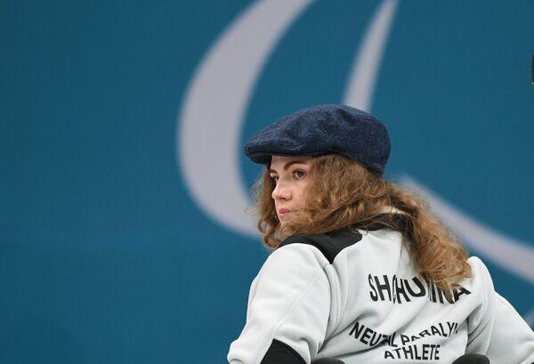 Российский атлет Дарья Щукина