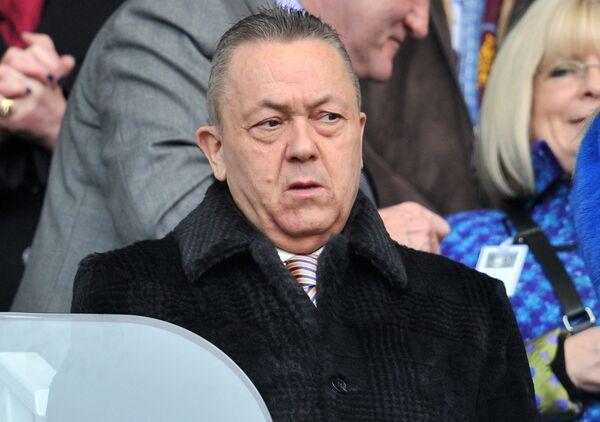 Совладелец английского футбольного клуба Вест Хэм Юнайтед Дэвид Салливан