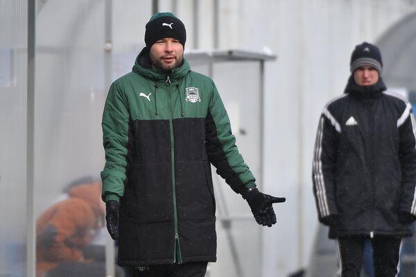 Главный тренер ФК Краснодар Мурад Мусаев