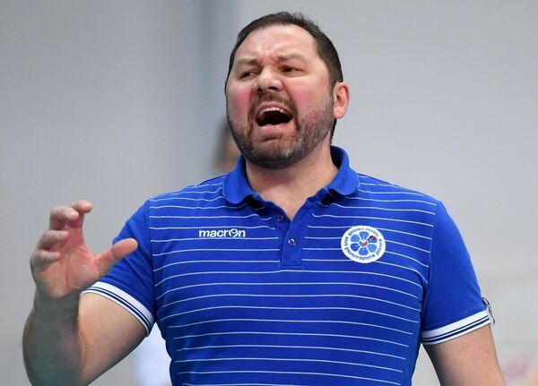 Главный тренер ЖВК Динамо-Казань Ришат Гилязутдинов