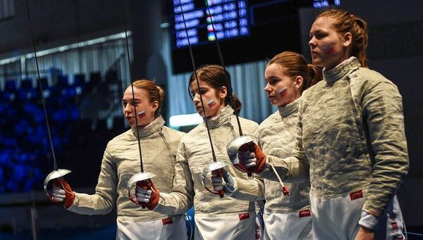 Саблистки юниорской сборной России