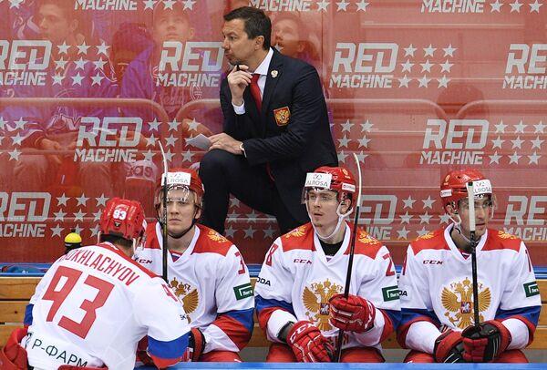 Главный тренер олимпийской сборной России Илья Воробьёв