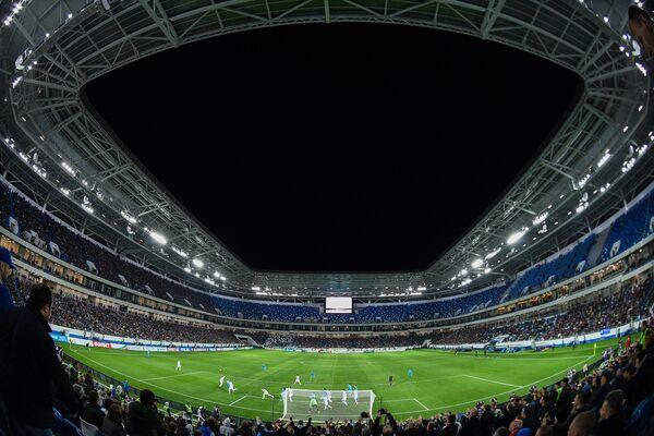 Стадион Калининград во время первого тестового матча