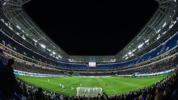 Стадион Калининград во время тестового матча
