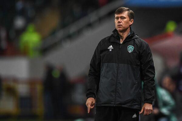 Исполняющий обязанности главного тренера ФК Ахмат Игорь Ледяхов