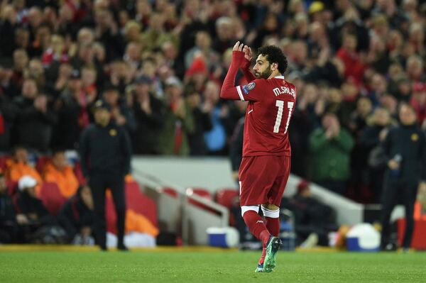 Нападающий Ливерпуля Мохамед Салах