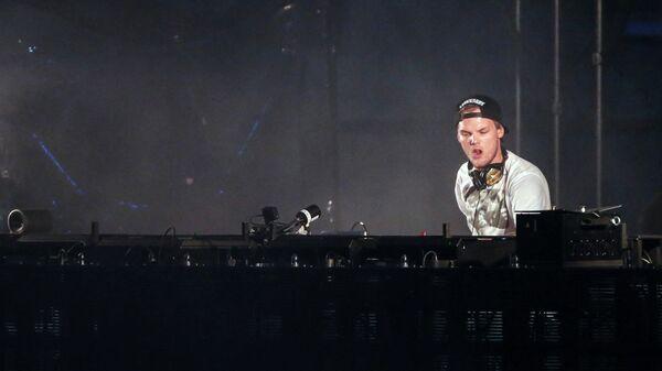 Шведский музыкант Avicii
