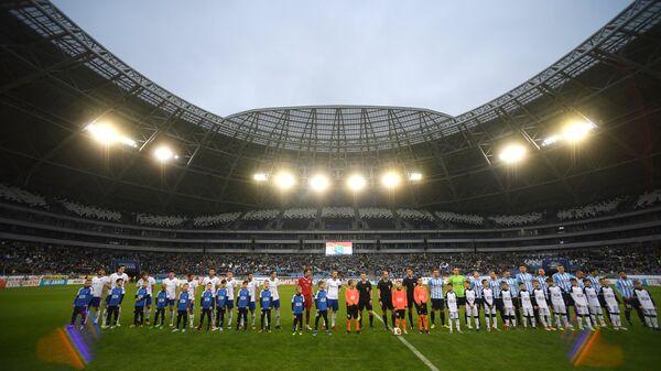 Игровой момент матча 35-го тура ФНЛ Крылья Советов - Факел