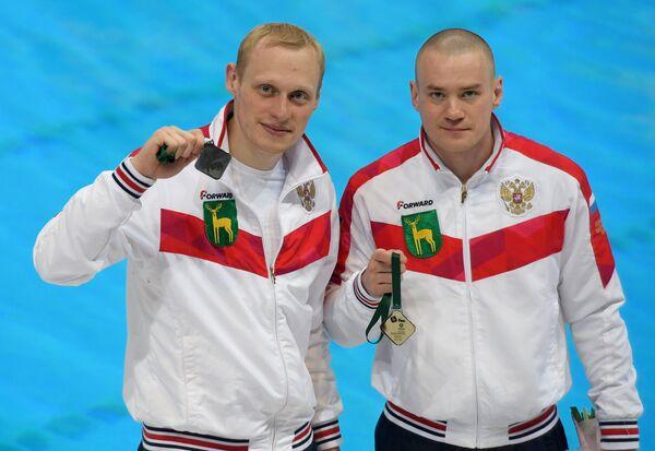 Евгений Кузнецов и Илья Захаров