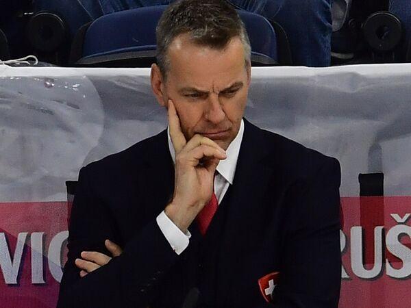 Главный тренер сборной Швейцарии Патрик Фишер