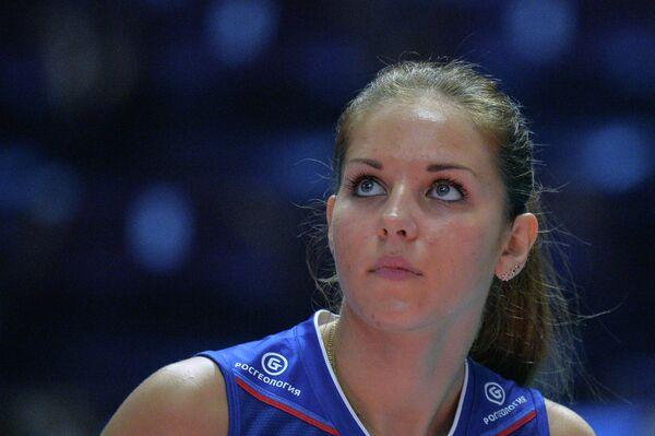 Волейболистка сборной России Наталья Малых