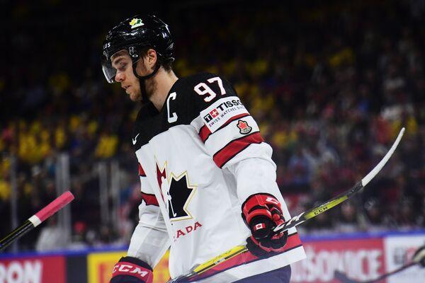 Нападающий сборной Канады Коннор Макдэвид