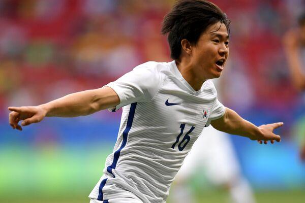 Игрок сборной Южной Кореи Квон Чханхун