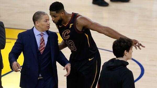 Центровой клуба НБА Кливленд Кавальерс Тристан Томпсон