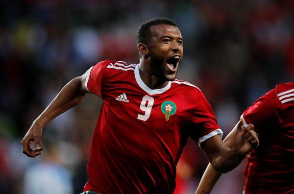 Нападающий сборной Марокко по футболу Аюб Эль-Кааби