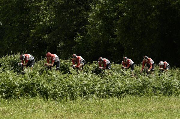 Велогонщики Lotto - Soudal