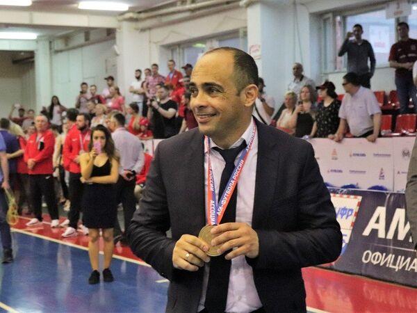 Главный тренер югорского клуба Газпром-Югра Кака