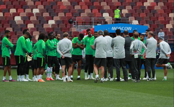 Футболисты сборной Саудовской Аравии