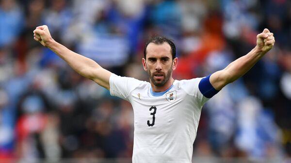 Защитник сборной Уругвая Диего Годин