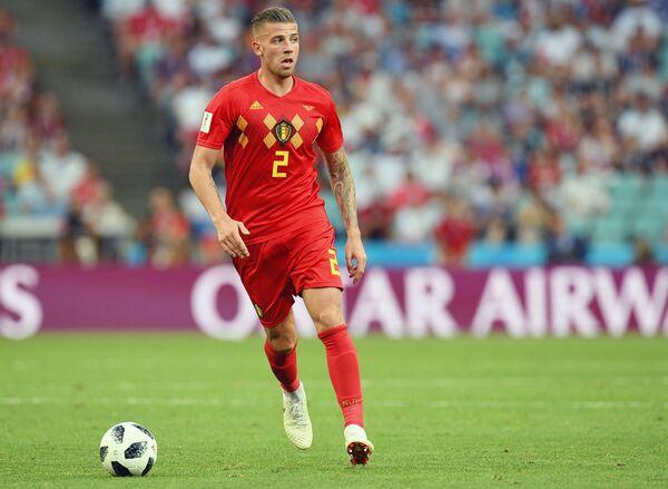 Защитник сборной Бельгии Тоби Алдервейрелд