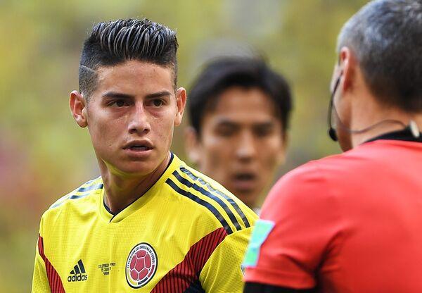 Полузащитник сборной Колумбии Хамес Родригес