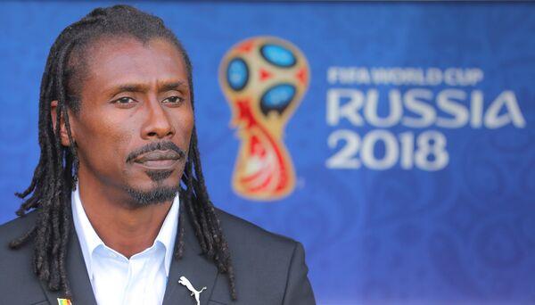 Главный тренер сборной Сенегала по футболу Алью Сиссе