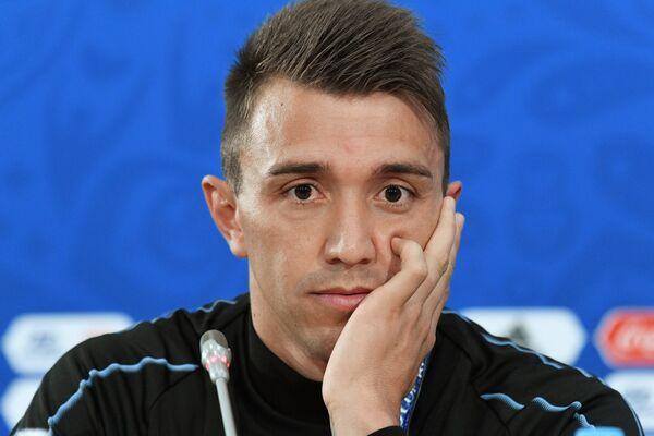 Вратарь сборной Уругвая Фернандо Муслера