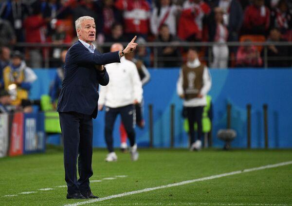 Главный тренер сборной Франции Дидье Дешам