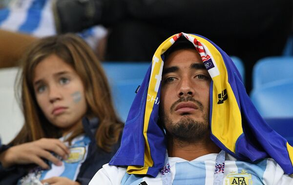 Футбол. ЧМ-2018. Матч Аргентина - Хорватия