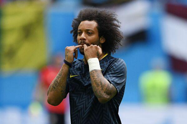 Защитник сборной Бразилии Марсело