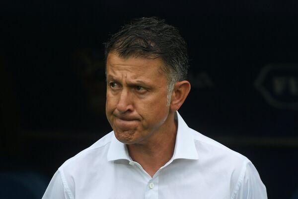 Главный тренер сборной Мексики Хуан Карлос Осорио
