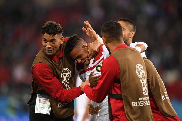 Футболисты сборной Марокко